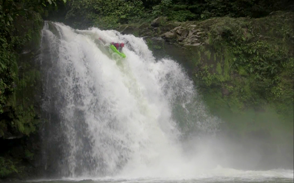Riverboarding Pozo Azul Waterfall (with Video)