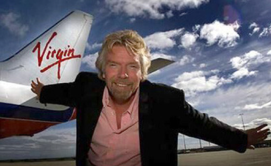 Richard Branson on working remotely and being healthy